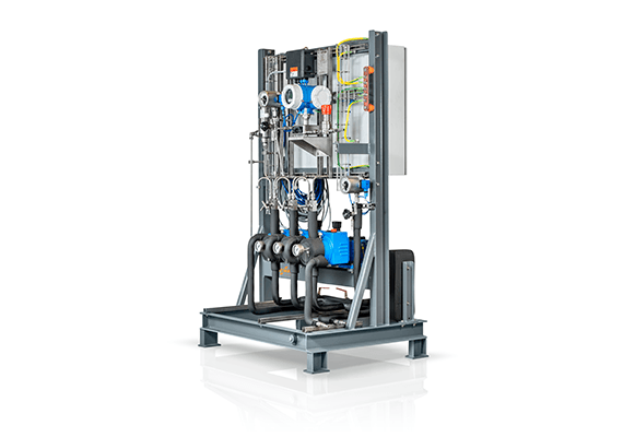 LEWA metering system for the plastics industry